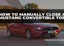 How to Manually Close a Mustang Convertible Top – That Easy!
